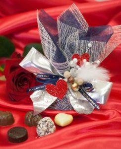 バレンタインデコラッピング1