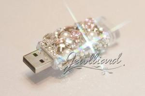 USBデコ(ビジュー盛り)