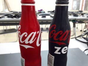 コカコーラアルミボトル