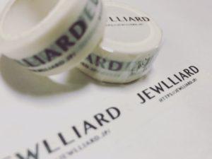 Jewlliardのマスキングテープ